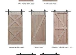 knotty alder barn door styles decor doors sliding closet