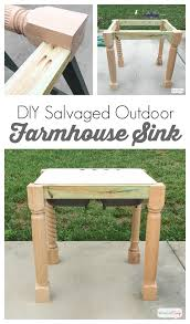 ad learn how to build a base for an outdoor cast iron farmhouse sink using