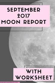 Moon Schedule For September 2017 Courtney Bentley