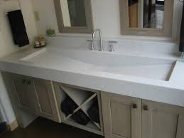corian countertop with integrated sink corian bathroom sinks trough sink vanity top
