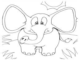 Elmer Elephant Coloring Page Images In Dapmalaysiainfo