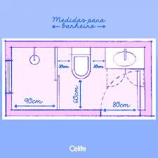 A medida padrão é de 60 cm de abertura, mas é preciso atenção para residências com cadeirantes. Um Banheiro Ideias Decoracao