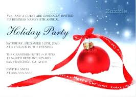 Free Holiday Party Templates Xmas Party Invitation Templates Free Guluca