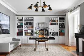White airy home office Bright Lighting Home Office Ideas Home Office Ideas 209 Trendy Inspiring Take To Try Décor Aid