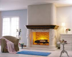 Decorations:Luxury Living Room With Modern Fireplace Also With Wooden Floor  And Sofa Ideas Electric