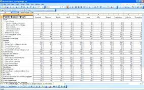Small Business Spreadsheet Template Budget Free For Expenses Spread ...