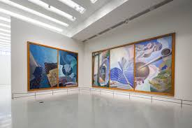 italian futurism feels at home in the guggenheim uncube installation view of the show nbsp on view from nbsp 21 ndash