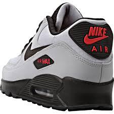nike air max 90 black grey red black grey nike air