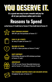 Card_benefit Forever 21