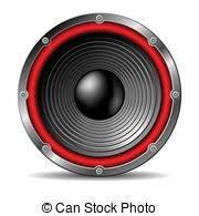 audio speakers clipart. audio speaker on white background. speakers clipart