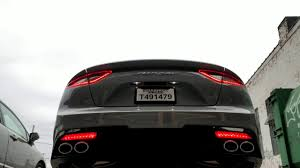 Kia Stinger Sequential Lights Kia Stinger Gt Sequential Led Reflectors Youtube