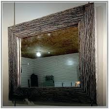 diy wood mirror frame. Wood Mirror Frame Ideas Rustic Framed Mirrors Wooden Designs Barn Best  Reclaimed On Large Diy Diy Wood Mirror Frame