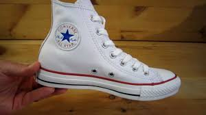 converse all stars chuck taylor high leather white