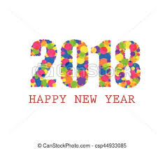free clip art happy new year 2018