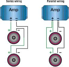 car amplifiers faq parallel and series wiring