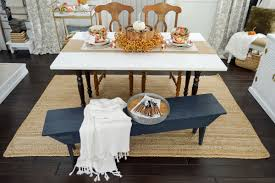 Fall Kitchen Decorating Autumn Home Decorating Simple Fall Table