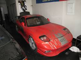 mazda rx7 fast and furious. fast and furious fd getting a little facelift cause of booboo mazda rx7 0
