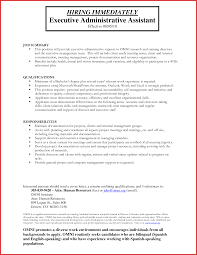 Executive Assistant Resume Fresh Administrative assistant Resume Pdf personal leave 97