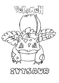 Ivysaur Coloring Pages - GetColoringPages.com