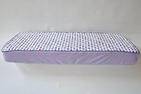 Amazon.com : Botanical Purple Quilted Crib Sheet : Crib Fitted ... & Botanical Purple Quilted Crib Sheet Adamdwight.com