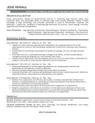 Resume Samples Legal Assistant Professional Resume Templates