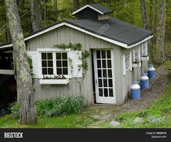 Pretty Sheds For Gardens Pretty Garden Shed Image Photo