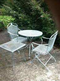 white metal patio chairs. White Metal Garden Furniture Patio Outdoor Tables Black Chairs Chair Table Trees F