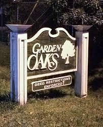 garden oaks deed restrictions signs garden oaks houston 77018
