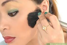 image led apply kohl makeup step 8