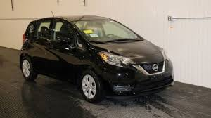 nissan versa 2018 black. new 2018 nissan versa note sv black