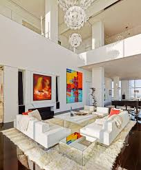 Nyc Living Room Stylish Homes Elegant Living Room In An 18000 Square Foot Nyc