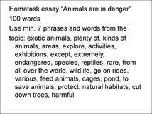 persuasive essay endangered species writing help help students persuasive essay endangered species