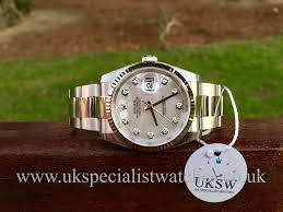rolex watches uk new pre owned second hand rolex watches rolex datejust mother of pearl diamond dial 116234 unused