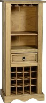 Mexican Pine Living Room Furniture Corona Sideboard And Wine Rack Alb10700 Mexican Pine Corona