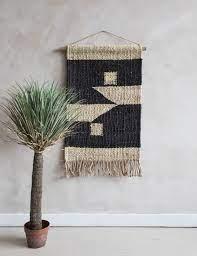 kilbo hemp wall hanging block print