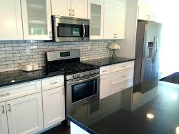 granite with white cabinets dark home ideas countertops black and brown