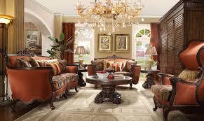 Peach Living Room Furnings