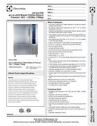 Blast Freezer Design Manual Air O Chill Air O Chill Blast Chiller Shock Freezer 102