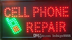 Wholesale Cell Phone Repairs Business Direct Selling Led Sign 27 5