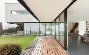 slimline aluminium sliding doors