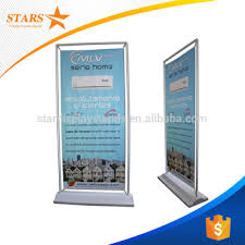 Free Standing Display Board Top Quality Very Heavy Foam Board Metal Display Stand With Hooks 6