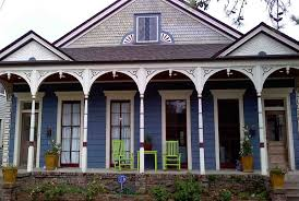 New Orleans House Colors: Mid City · BlueHouse. BlueHouseGreenChairs