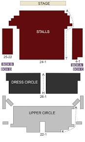 Richmond Theatre London Seating Chart Stage London