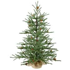 Artificial Christmas Trees - Prelit Table Top Artificial Christmas ...