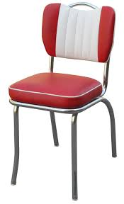Handle Back Red Diner Chairs  Richardson Seating
