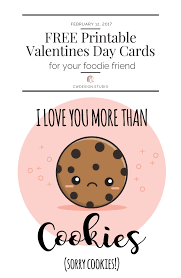 We made them into coloring cards so that your kids could have fun coloring them for all of their friends. Free Printable Valentine S Day Cards For Your Foodie Friends