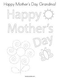 I have some with cozy hugs, pretty flowers, and cheerful hearts. Happy Mother S Day Grandma Coloring Page Twisty Noodle