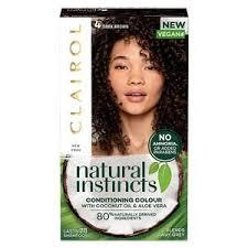 Natural Instincts Dark Brown 4 Semi Permanent Hair Dye