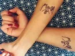 Das Sind Die Schönsten Schwestern Tattoos
