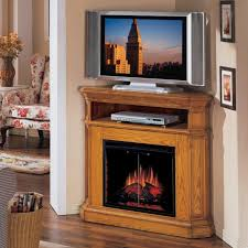 furniture corner electric fireplace tv stand with shelf
